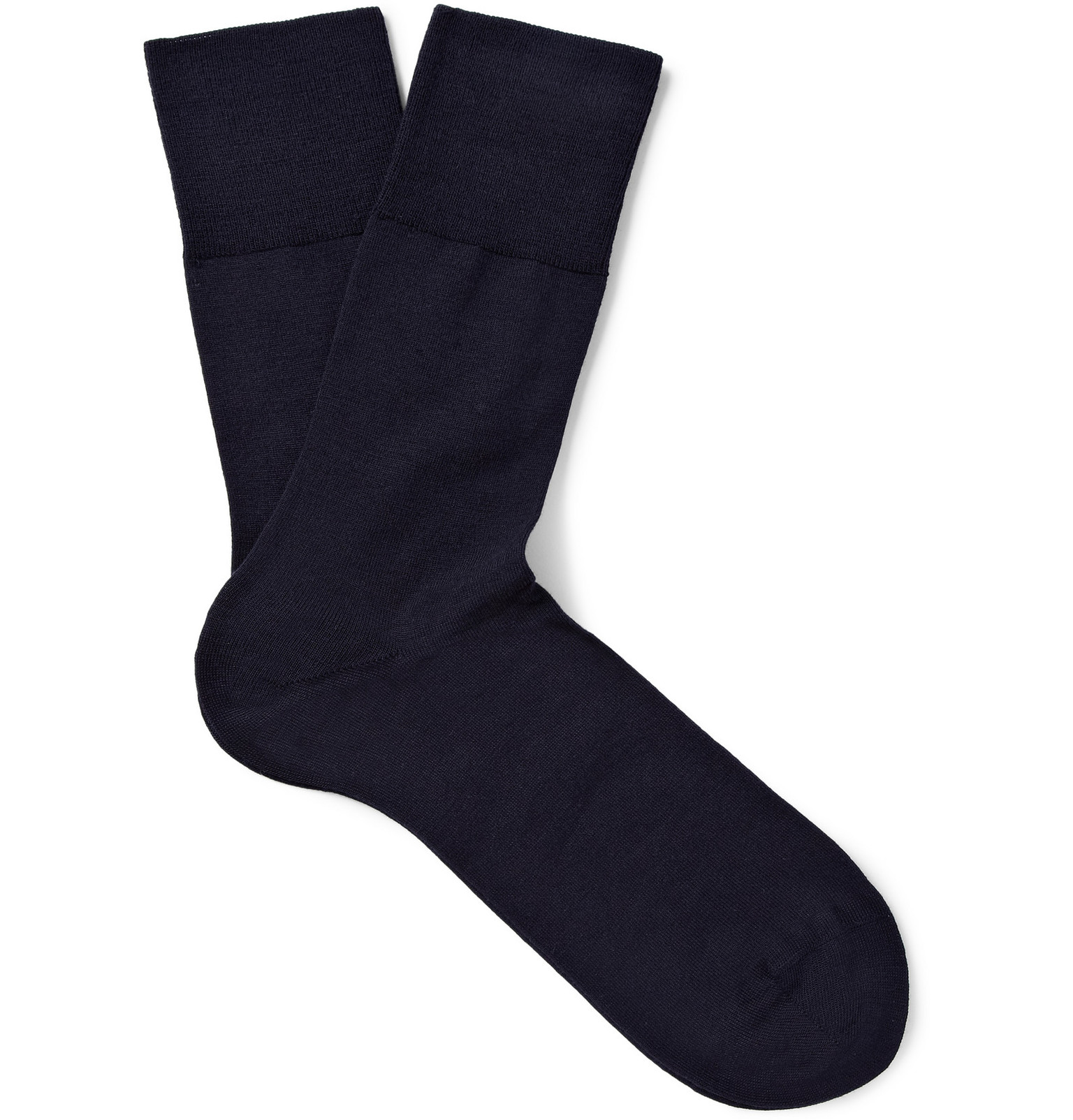 wool and cottonblend socks