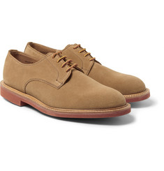 Mark McNairy - Contrast-Sole Suede Derby Shoes