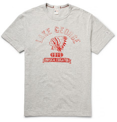 Todd Snyder + Champion Lake George Printed Cotton-Jersey T-Shirt