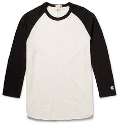 Todd Snyder + Champion Cotton Raglan-Sleeve T-Shirt