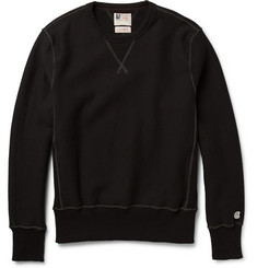 Todd Snyder + Champion Fleece-Back Cotton-Jersey Sweatshirt