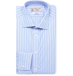 Turnbull & Asser Blue Striped Cotton Shirt