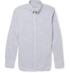 Turnbull & Asser Button-Down Collar Checked Cotton Shirt