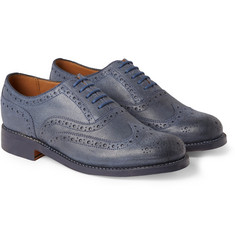 Grenson Stanley Leather Oxford Brogues