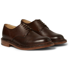 Grenson Triple-Welted Leather Derby Shoes
