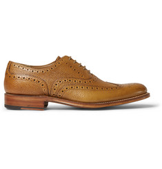 Grenson Dylan Grained-Leather Wingtip Brogues