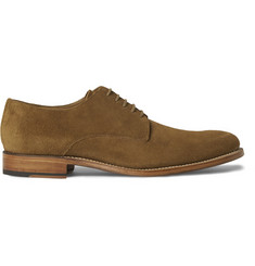 Grenson Toby Suede Derby Shoes
