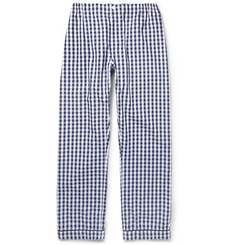Sleepy Jones Marcel Gingham-Check Cotton Pyjama Trousers