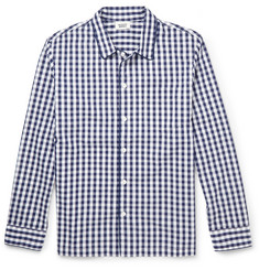 Sleepy Jones Henry Gingham-Checked Cotton Pyjama Shirt