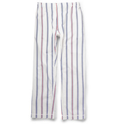 Sleepy Jones Regimental Striped Cotton Pyjama Trousers