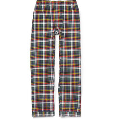 Sleepy Jones Plaid Cotton-Flannel Pyjama Trousers