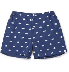 Sleepy Jones Sleeping Pill-Printed Cotton Pyjama Shorts