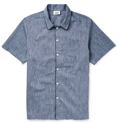 Sleepy Jones Henry Woven-Cotton Pyjama Shirt