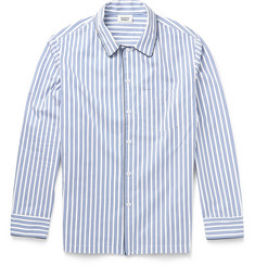 Sleepy Jones Henry Striped Cotton Pyjama Shirt