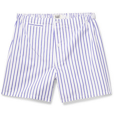 Sleepy Jones Jasper Striped Cotton Boxer Shorts