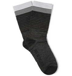 Cafe du Cycliste High-Cuff Cycling Socks
