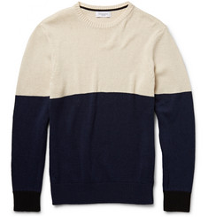 Ovadia & Sons Colour-Block Cotton Sweater