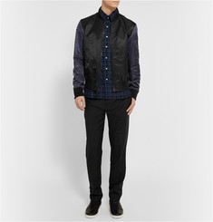 Ovadia & Sons Midwood Sketched-Check Cotton Shirt
