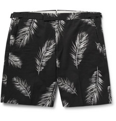 Ovadia & Sons Pierre Printed Cotton Shorts