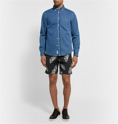 Ovadia & Sons Pierre Palm-Printed Cotton Shorts