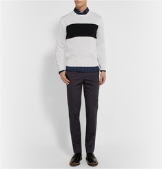 Ovadia & Sons Pierre Slim-Fit Twill Trousers
