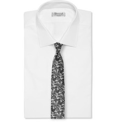 Ovadia & Sons Floral-Print Silk Tie