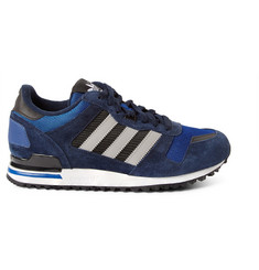 adidas Originals ZX700 Suede, Leather and Mesh Sneakers