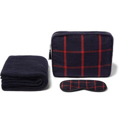 Elton John Aids Foundation Armand Diradourian Wool and Cashmere-Blend Travel Set
