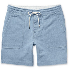 Club Monaco Loopback Cotton-Jersey Shorts