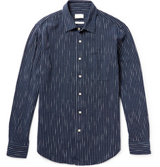 Club Monaco Embroidered Cotton Shirt