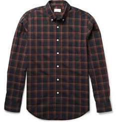 Club Monaco Slim-Fit Plaid Cotton Shirt
