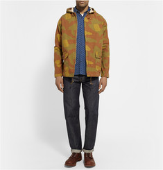 Freemans Sporting Club Printed Cotton Oxford Shirt