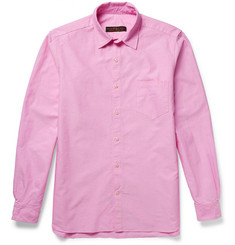 Freemans Sporting Club Slim-Fit Cotton Oxford Shirt
