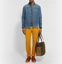 Freemans Sporting Club Winchester Slim-Fit Cotton-Twill Chinos