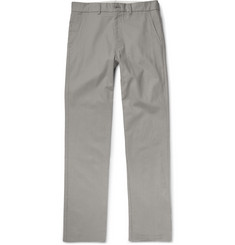 Freemans Sporting Club Winchester Slim-Fit Linen and Cotton-Blend Chinos