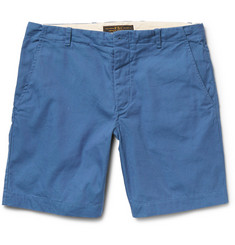 Freemans Sporting Club Slim-Fit Cotton-Canvas Shorts