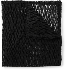 Marwood Cotton-Mesh Pocket Square