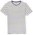 Hentsch Man - Striped Cotton T-Shirt