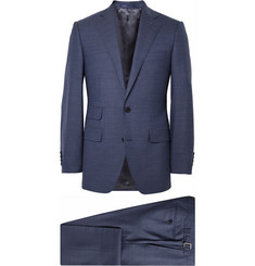 Thom Sweeney Blue Weighouse Wool Suit