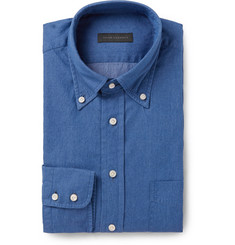 Thom Sweeney Cotton-Chambray Shirt