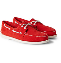 Sperry Top-Sider Authentic Original Two-Eye Suede Boat Shoes