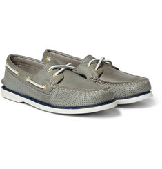 Sperry Top-Sider Gold Cup Perforated Leather Boat Shoes