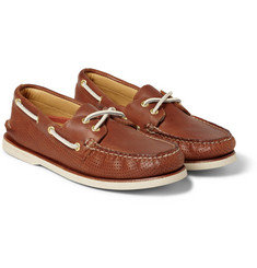 Sperry Top-Sider - Gold Cup Perforated Leather Boat Shoes