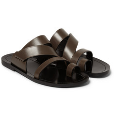 Dan Ward Multi-Strap Leather Sandals
