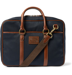 Polo Ralph Lauren Leather-Trimmed Canvas Bag