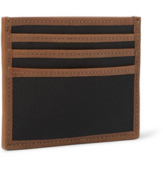 Polo Ralph Lauren Leather-Trimmed Nylon Cardholder
