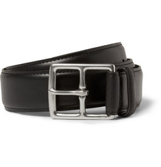 Polo Ralph Lauren Black 3.5cm Heritage Leather Belt