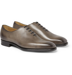 Edward Green Hand-Polished Newbury Leather Oxford Shoes
