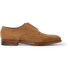 Edward Green Westbourne Suede Derbies Shoes