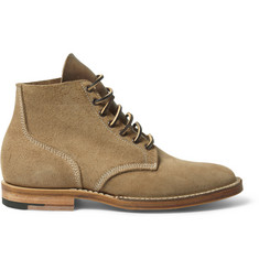 Viberg Boondocker Suede Lace-Up Boots